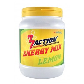 Bebida Energetica 3Action Energy Mix 500g- Limón