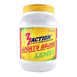 Bebida Isotonica 3Action Sports Drink 1kg-Limón