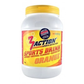 Bebida Isotonica 3Action Sports Drink 1kg-Naranja