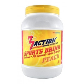 Bebida Isotonica 3Action Sports Drink 1kg-Melocoton