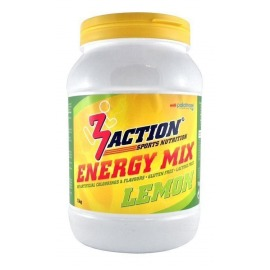Bebida Energetica 3Action Energy Mix 1kg- Limón