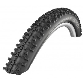 "Cubierta Schwalbe Smart Sam Plus HS476 26x2.10"" 54-559 negro-SSkin GreenG Addix"