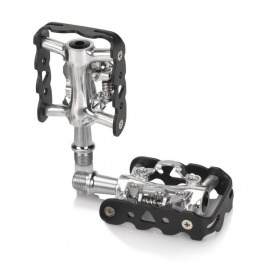 XLC Pedal automático PD-S20 unilateral negro compatible-SPD embalaje de taller