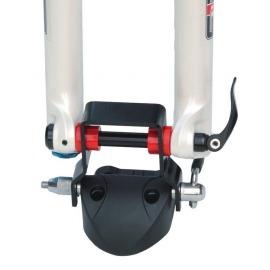 Peruzzo adaptador Downhill para eje Ø12, Ø15, Ø15 Boost y Ø20mm para portaequipaje Rolle Pordoi y Pordoi Delux Duna