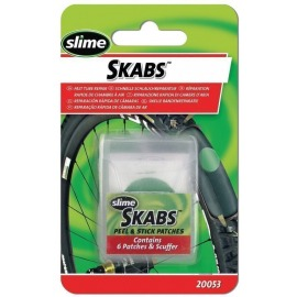Set de parches Slime Skabs 6 parches+herramienta abrasiva, autoadh.