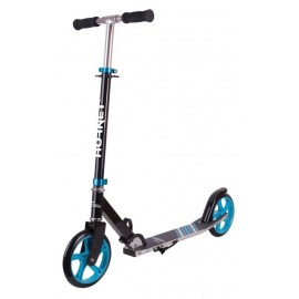 "City Scooter Hornet Alu/acero 8"" 200 negro/azul claro 200mm"