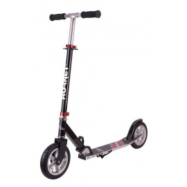 "City Scooter Hornet Hudora 8"" 200 Air negro/rojo 200mm"