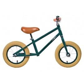 "Bici aprendizaje Rebel Kidz Air Classic Boy 12,5"", acero, Classic verde oscuro"