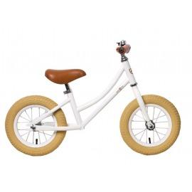 "Bici aprendizaje RebelKidz Air Classic Unisex 12,5"", acero, Classic blanco"