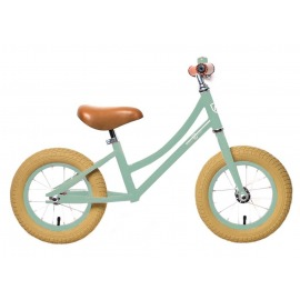 "Bici aprendizaje RebelKidz Air Classic Unisex 12,5"", acero, Classic verde claro"
