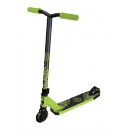 Stuntscooter Madd Whip Tacker lime/negro ruedas 100mm