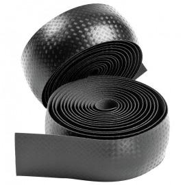 Cinta de manillar carbono negro c.asp.carbono