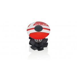 "XLC A-Head Plug AP-S01 1.1/8"", aluminio, rojo"